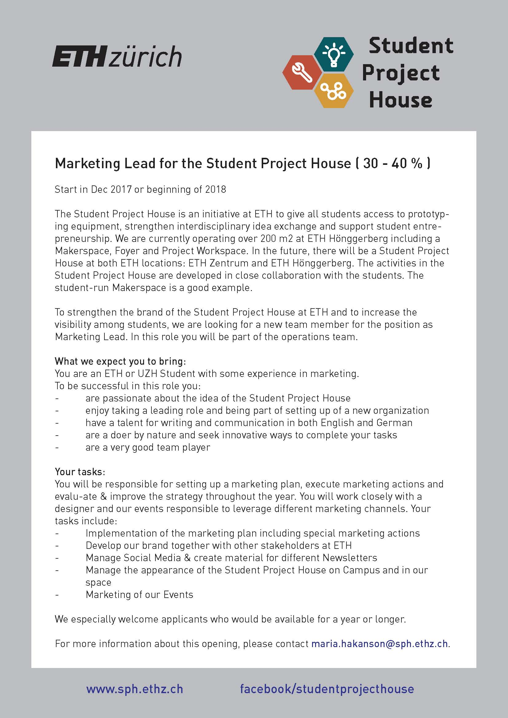 Marketing Lead_Student Project House_neu